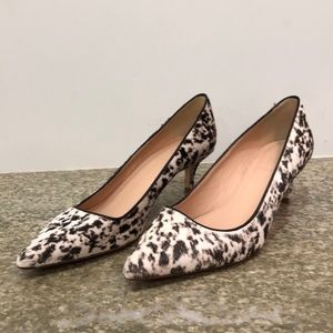 JCrew Collection Dulci calf hair heels size 8.5